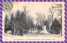 Tarjeta postal - Lons el Saunier - Paseo de la Código de caballería
