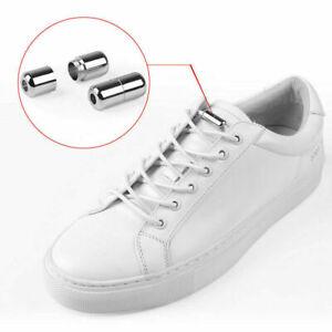 No Tie Shoe Laces Adult Kid Elastic Trainer Laces Lazy Easy No-tie Shoelaces UK