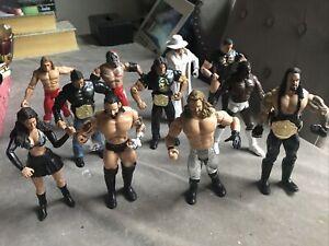 Jakks WWE/WWF Wrestling Figure bundle x 11