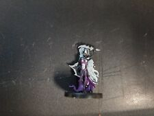D&D Dungeons & Dragons Miniatures Harbinger Drow Cleric of Lolth #61