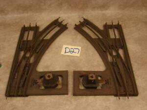 D27B VINTAGE PAIR OF LIONEL #210 ELECTRIC CONTROL SWITCHES STANDARD GAUGE PARTS