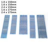 """10pcs TIG Welding Tungsten Electrode .040 1/16 3/32 1/8 5/32 By 7 """" Length"""