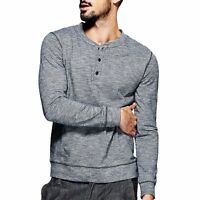 S M L XL 2XL 3XL Mens 100% Cotton Basic Tee Short Sleeve Henry T-shirt New!!!