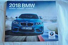 2018 bmw calendar new factory original