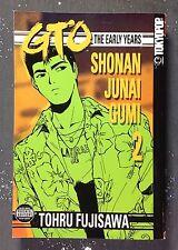 Great Teacher Onizuka GTO The Early Years Shonan Junai Gumi Manga 2 1st Edition
