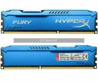 16GB 2x 8GB 1600MHz PC3-12800U DIMM FURY HyperX For Kingston Desktop DDR3 memory
