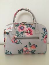 Cath Kidston Embossed Bowler Bag/Handbag Windflower Bunch Stone-Christmas Gift