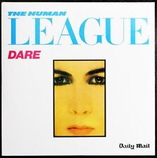 THE HUMAN LEAGUE DARE 10 TRACK CD ALBUM REISSUE PROMO DAILY MAIL VIRGIN 2008