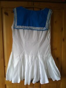Sailor dress, girls/small ladies.  Cosplay, show, dance etc.  Used, good conditi