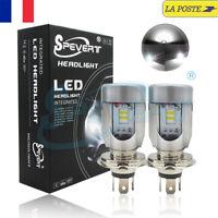 Améliorée 55W H4 LED Ampoule Voiture Feux Phare Lampe Kit Remplacer Hi/Lo Xénon