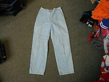 "Marks & Spencer Tapered Size 12 Leg 29"" Faded Light Blue Ladies Jeans"