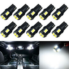 JDM ASTAR 10x Super White T10 5630-SMD LED Light Bulb 194 168 2825 175 W5W 192