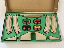 Brio Vintage Wooden Train Set - Complete In Original Box