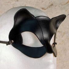 Catwoman Leather Mask Sexy Black Batgirl Super Hero Halloween Cosplay Cat Masks