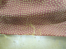 Fabricut Fabrics Pattern Ostrich Dots Color Cinnamon 3.7 Yd x 56 In Cotton Blend