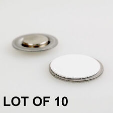 Round Magnet with Adhesive for Buttons Name Tags Badges Pins LOT OF 10 #RM01-10#
