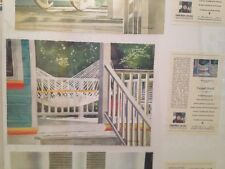 Linda Baker Layed Back Limited Edition Giclee Art Print Front Porch Hammock
