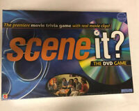 Scene It? The Mattel DVD Family/ Friends Board Game Movie Trivia Game NEW&Sealed