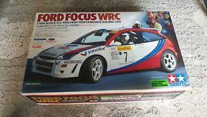 Tamiya Ford Focus WRC TL-01 4x4 RC 1/10 Auto - 1999 -No telecomando come da foto