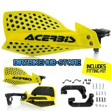 Acerbis X-Ultimate MX Motocross Handguards Yellow/Black Suzuki RM125/250 2004