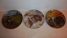 Knowles Collector Plates (Lot of 3)
