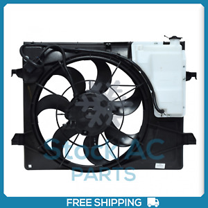 New A/C Radiator-Condenser Fan for Kia Forte, Forte Koup - 2010 to 2013