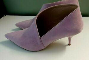 Next Pink  Ankle Boots Pointed Toe  Kitten Heel Size 7 Ladies Womens