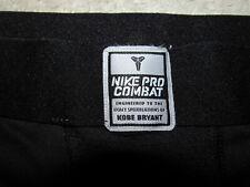 NIKE BLACK MAMBA KOBE BRYANT Player Issued AUTHENTIC PRO COMBAT STRETCH PANTS-M