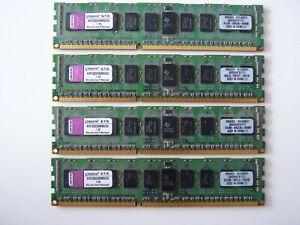 Kingston 8GB (4x2GB) DDR3 1333MHz RAM (SDRAM) 240-pin DIMMs