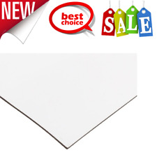 Magnet Sheet Magnetic Paper 12 Wide 24 Long White Vinyl Back Large Amp Flexible