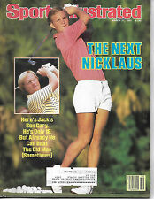 SPORTS ILLUSTRATED - JACK'S SON GARY NICKLAUS FROM MARCH 11, 1985