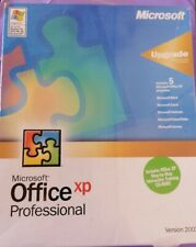 MICROSOFT OFFICE XP PROFESSIONAL UPGRADE NEW SEALED BOXED WORD EXCEL  WITH KEY