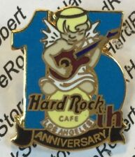 1997 HARD ROCK CAFE LOS ANGELES 15TH ANNIVERSARY ANGEL PLAYING GUITAR PIN
