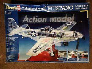 """Revell 1/32 """"Phantom"""" Mustang F-51D / P-51K (motorized) Action Model"""