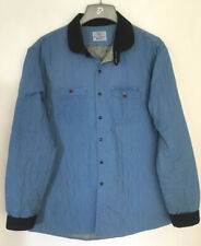 Barbour Beacon Brand Quilted Jacket Coat Blue XXL