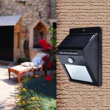 12 LED Solar Power Motion Sensor Garden Security Lamp Outdoor Waterproof Light