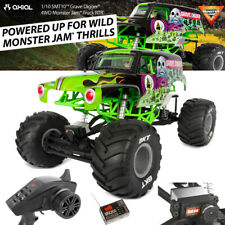 Axial AXI03019 1/10 SMT10 Grave Digger 4WD Monster Jam Truck RTR Green