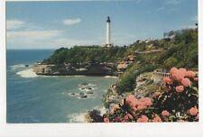 Biarritz Le Phare Vintage Postcard France 621a