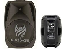 "Blackmore BJP-15BT 15"" Rechargeable PA DJ Speaker +Bluetooth +USB/SD +2Mic Input"