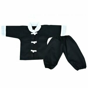 Playwell Baby Kung Fu Gi Uniform Martial Arts Kimono Suit Infant Gifts Outfit