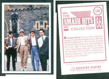Simple Minds 7x10 cm Sticker! Brand New!! n.139! Notes on the Back! 1986!