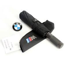 Original BMW M Taschenschirm Schirm schwarz 80232410917 Regenschirm Carbon Neu