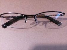 New Authentic RayBan TITANIUM  RB 8586 1033 Bronze/Tortoise 53-17 Eyeglasses