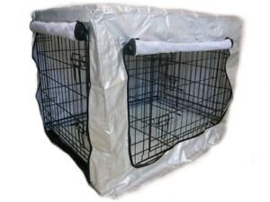 Sun Reflective Rain Weather Waterproof Silver UV Cage Cover - Dog Shows & Travel
