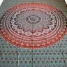 couvre-lit couverture Lotus Fleur dekotuch Inde tapisserie Décoration murale