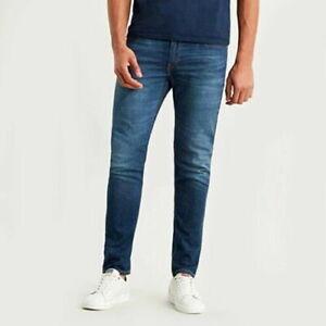 Levi's Levis 512 Slim 2 Voie Extensible Jeans Bleu W 31 32 36 L 32 31R 32R 36R