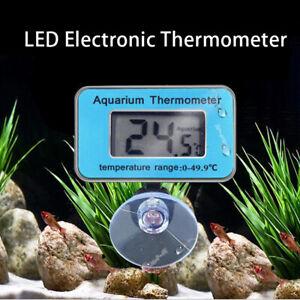 LCD Digital Waterproof Fish Aquarium Water Tank Temperature Thermometer E TP