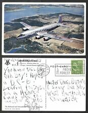 1951 Aviation  Postcard - American Airlines Jet
