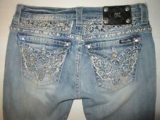 Miss Me Boot Jeans Tag Size 29 x 29 Broken Zipper