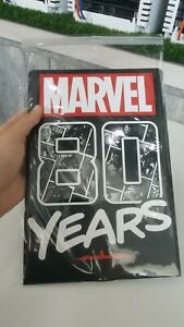 MARVEL 80 YEARS STAMP POST CARD COLLECTION ALBUM NEW LIMITED EDITION COLLECTORS